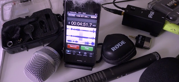 smartphone audio video