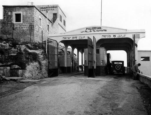 Syria/Palestine Border 1938