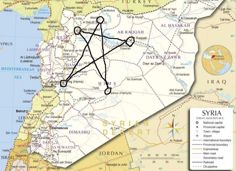 Pentagramme Syrie