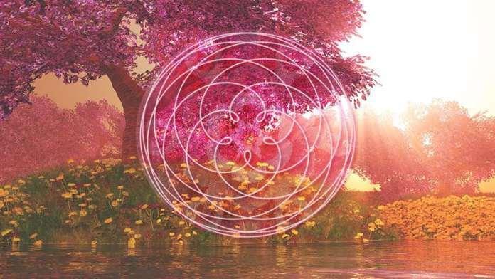 Mandala, sororité de la rose, déesse, activation