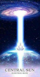 Central Sun Electric Blue Light