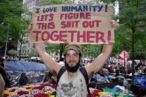 Fukushima-5-pancarte-Years-of-Fire-Occupy-Movement-I-Love-Humanity-Lets-Figure-This-Shit-Out-Together