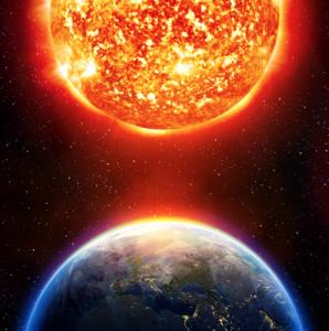 face-Sun-Earth