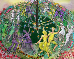 couleurs-The Last of the Maypole Dancers, by Ilsa Elford