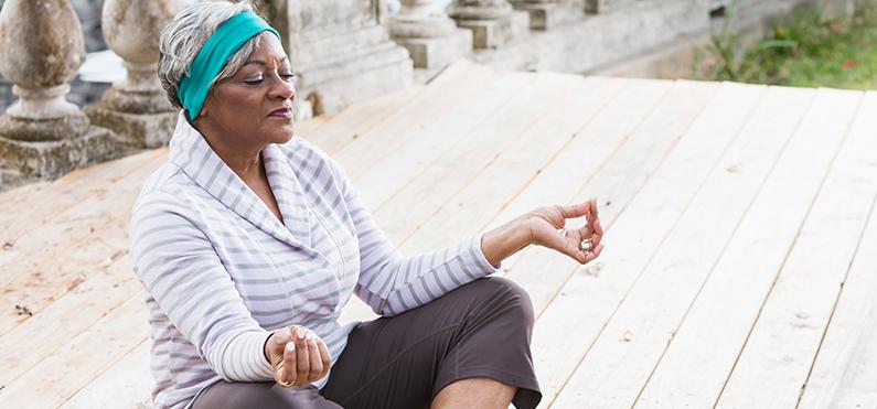 bleu-meditation