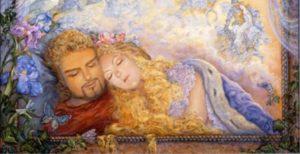 Knight-and-fairy-asleep