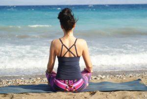 Meditation-plage
